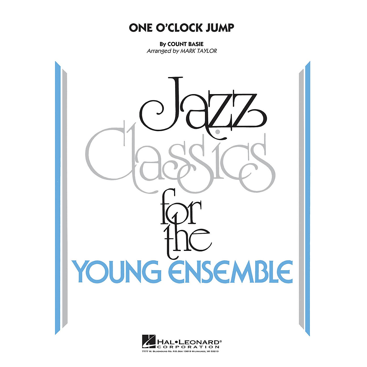 Hal Leonard One O'Clock Jump Jazz Band Level 3 by Count Basie Arranged by Mark Taylor thumbnail