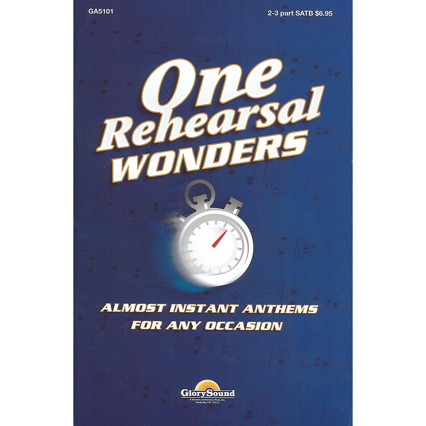 Shawnee Press One Rehearsal Wonders - Volume 1 (SATB) SATB composed by Various thumbnail