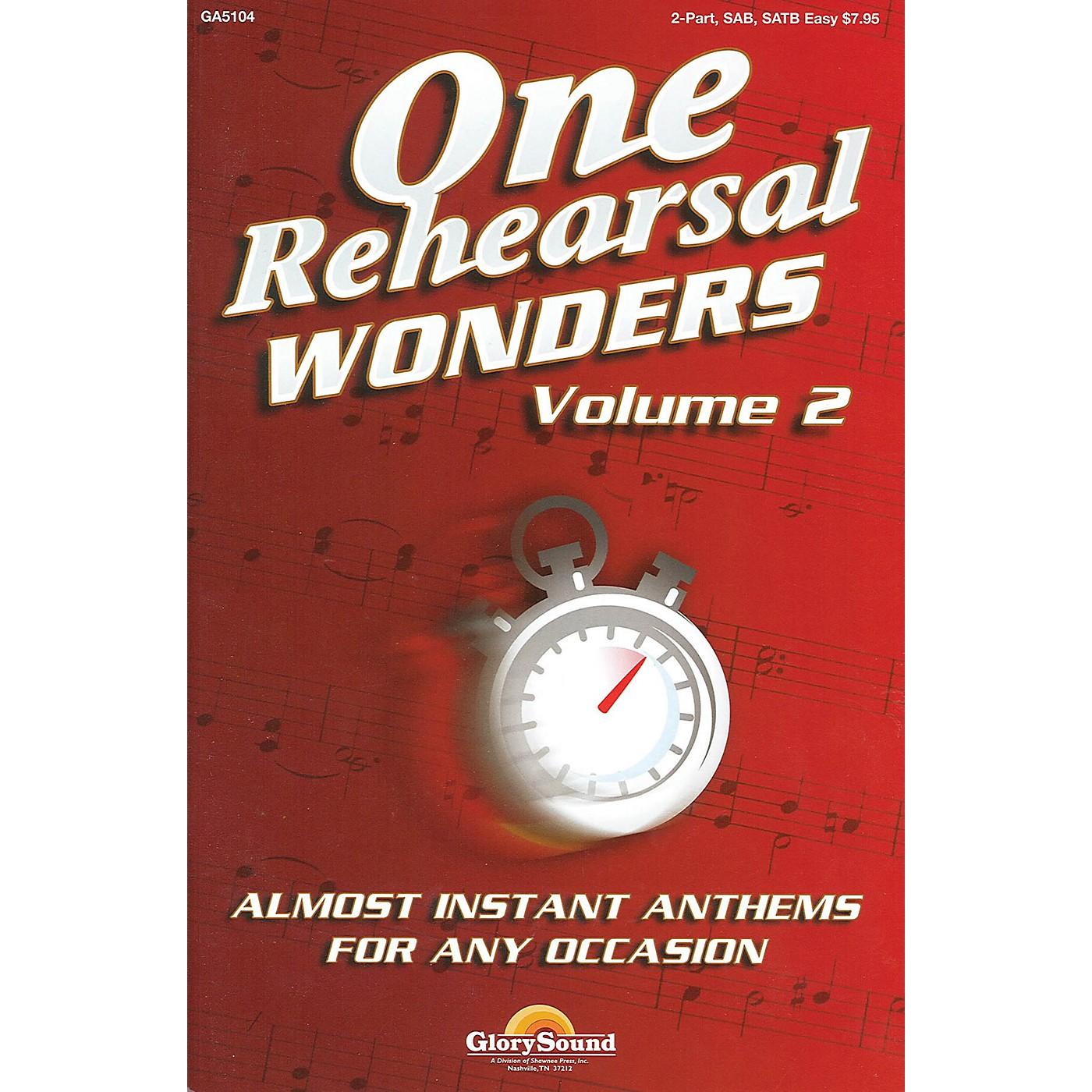Shawnee Press One Rehearsal Wonders - Volume 2 (SATB) SATB composed by Various thumbnail