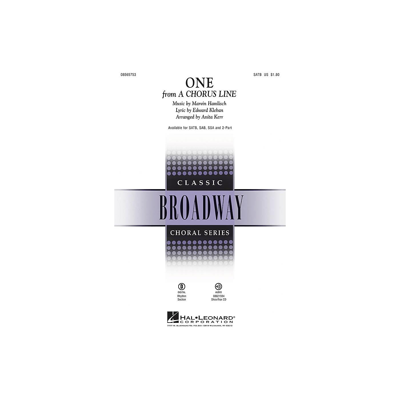 Hal Leonard One SSA Arranged by Anita Kerr thumbnail