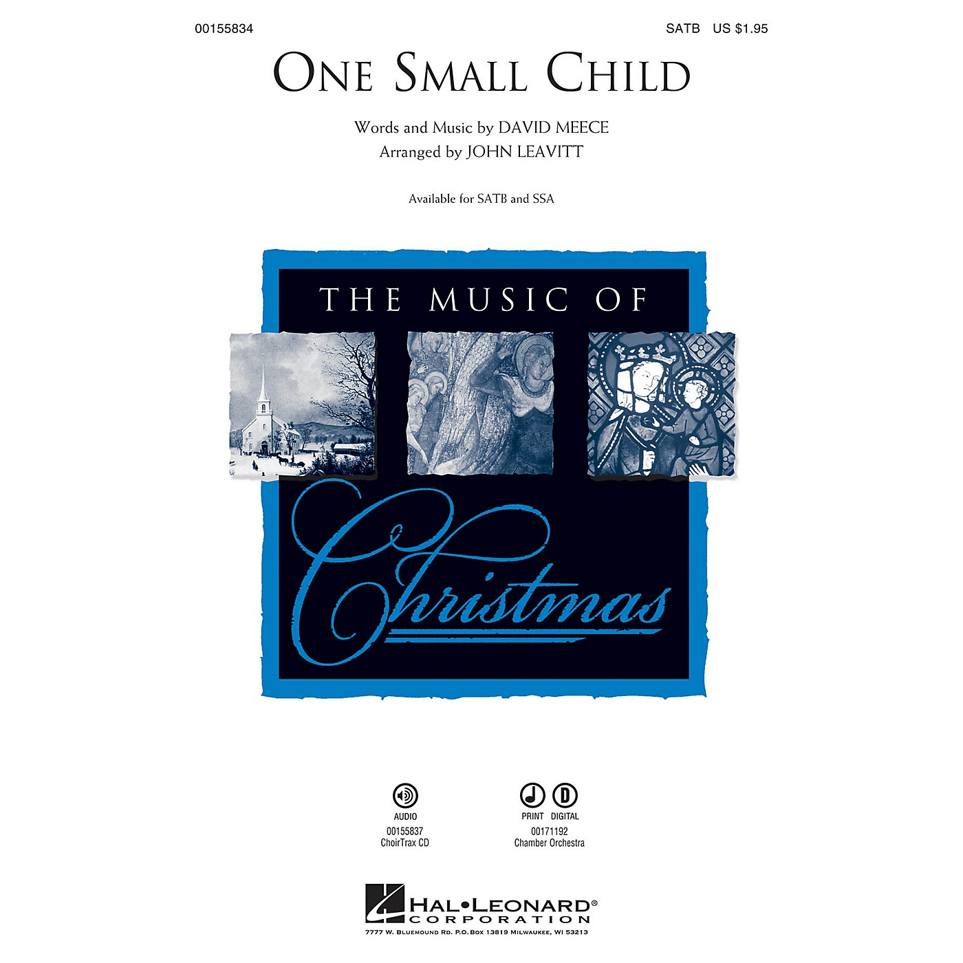 Hal Leonard One Small Child CHOIRTRAX CD Arranged by John Leavitt thumbnail