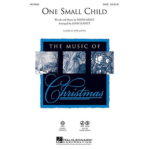 Hal Leonard One Small Child SATB arranged by John Leavitt thumbnail
