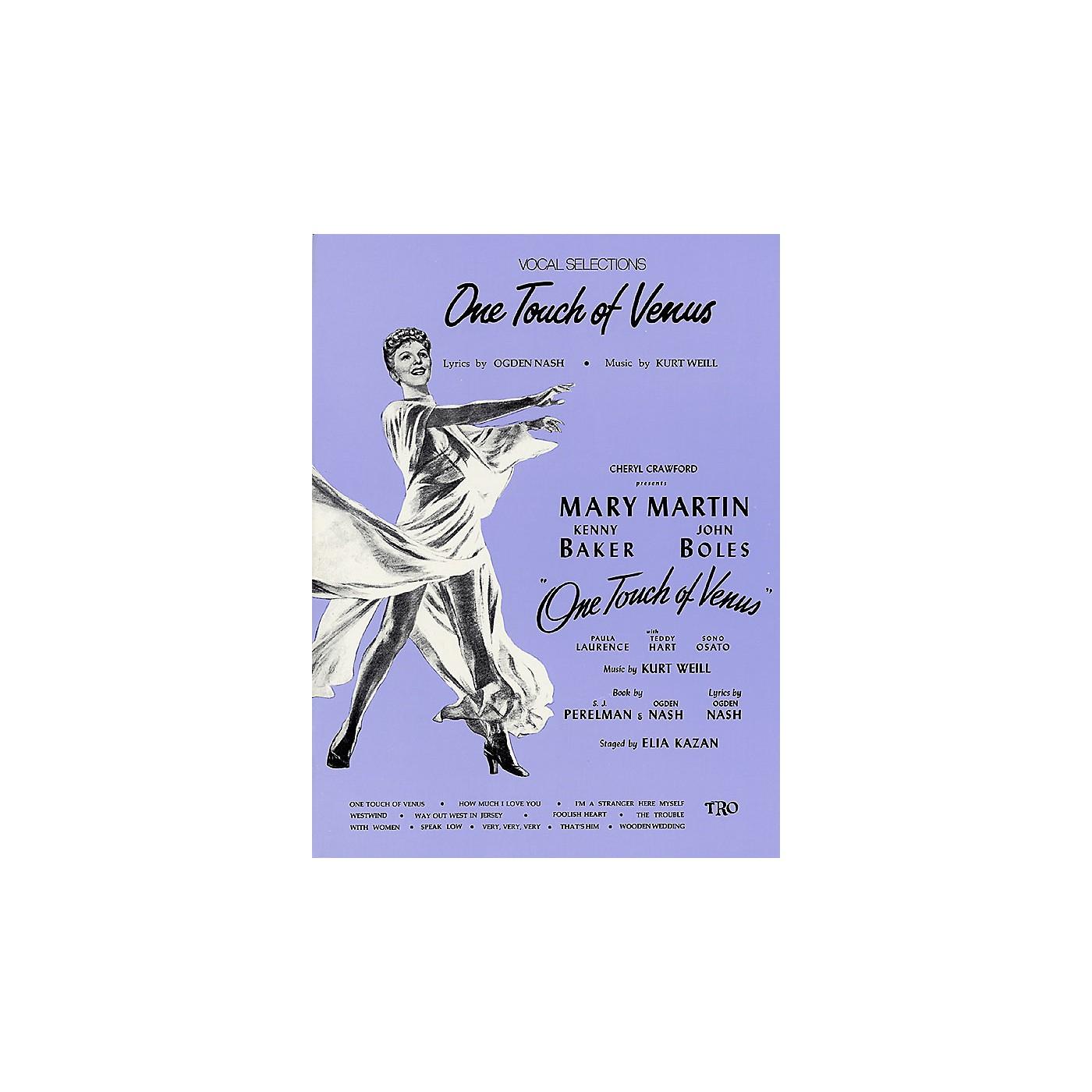 TRO ESSEX Music Group One Touch of Venus Richmond Music ¯ Folios Series thumbnail