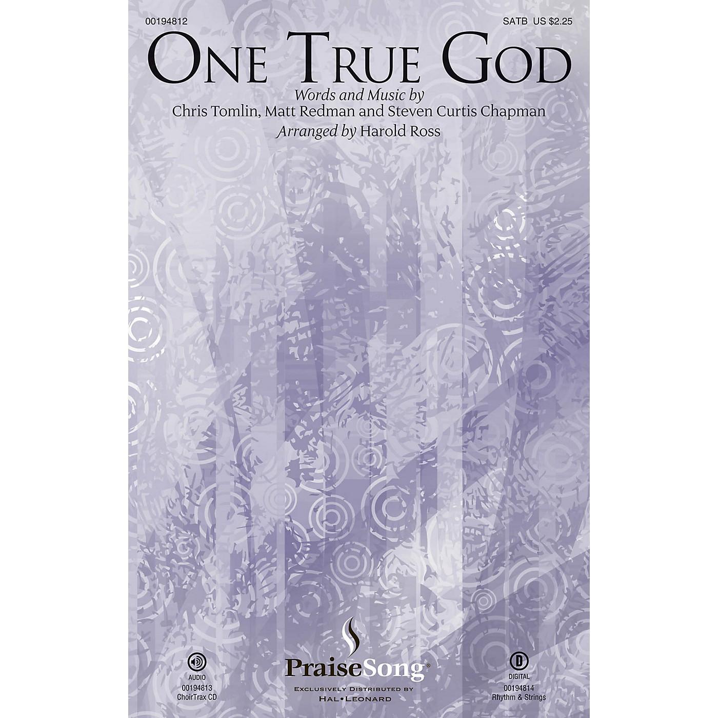 PraiseSong One True God CHOIRTRAX CD by Steven Curtis Chapman Arranged by Harold Ross thumbnail