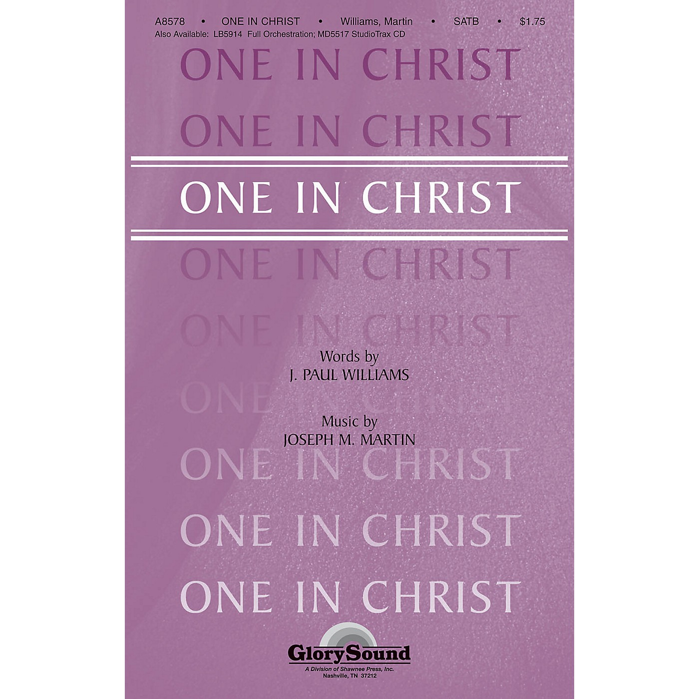 Shawnee Press One in Christ SATB composed by J. Paul Williams thumbnail