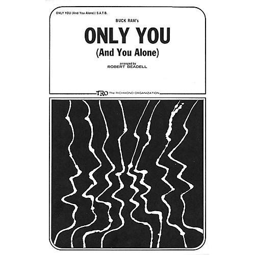 TRO ESSEX Music Group Only You (And You Alone) SATB Arranged by Robert Beadell thumbnail