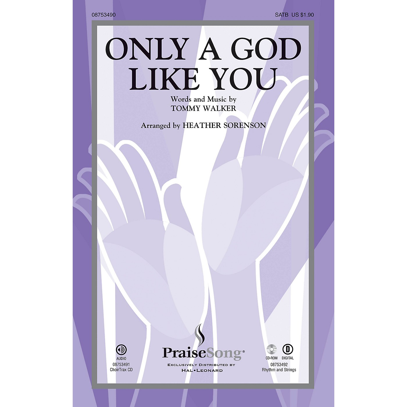 PraiseSong Only a God Like You SATB arranged by Heather Sorenson thumbnail