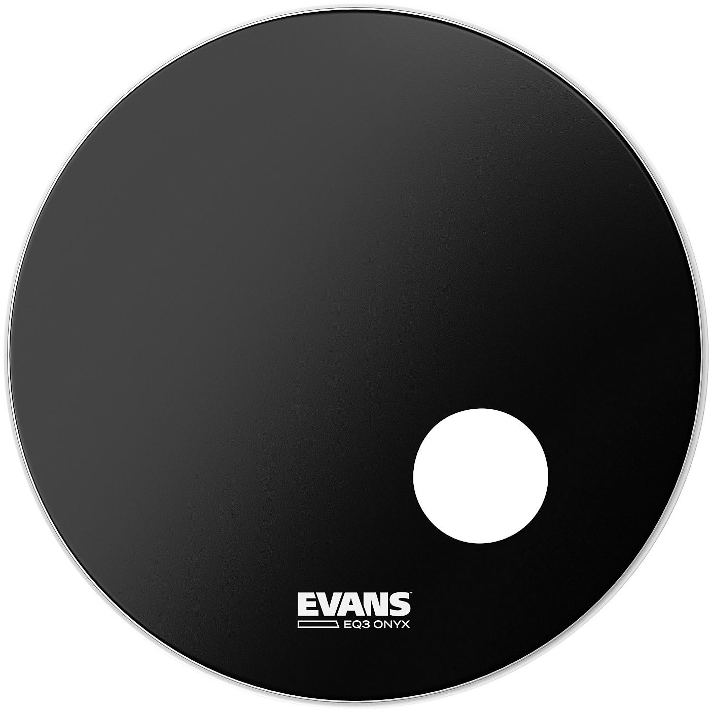 Evans Onyx Resonant Bass Drumhead thumbnail
