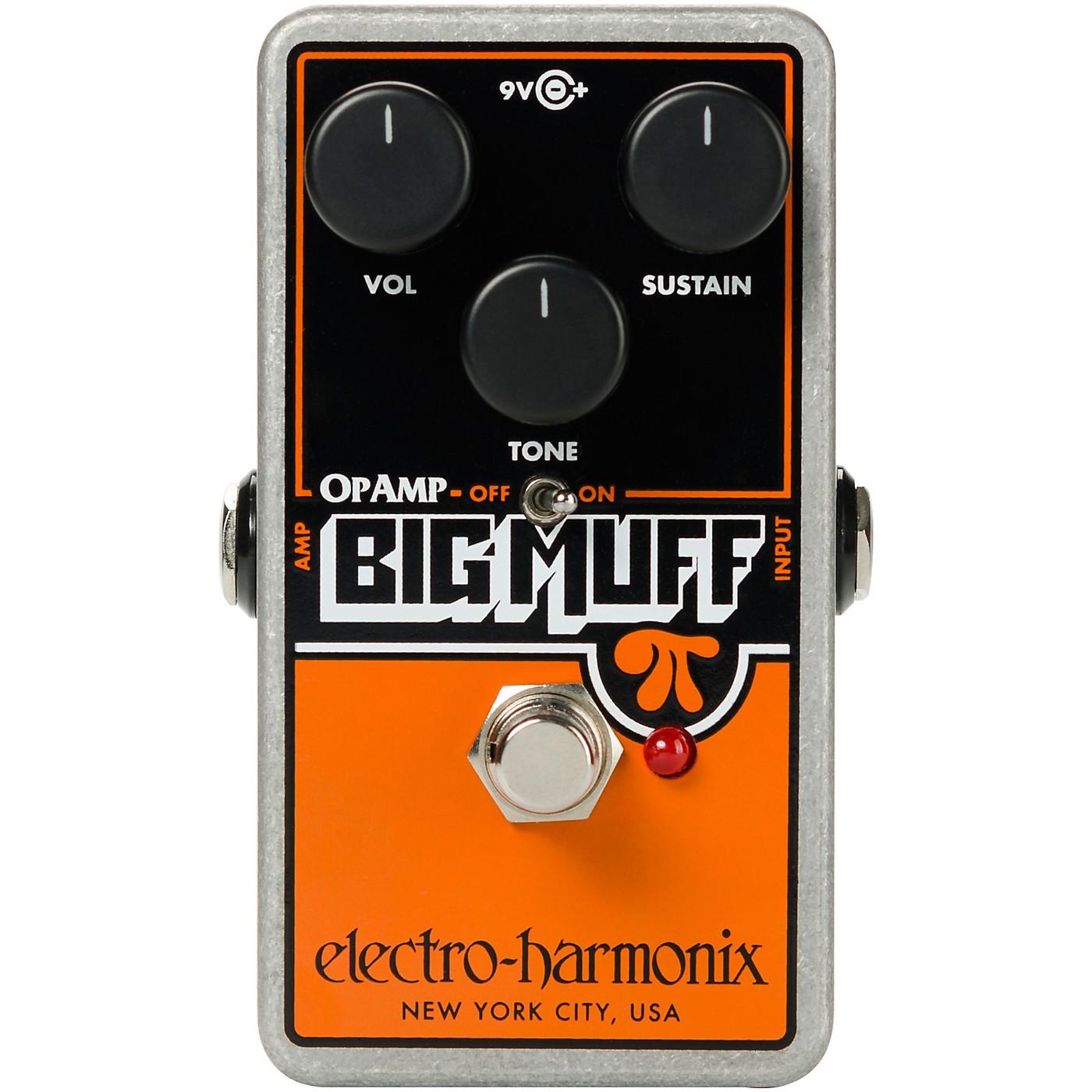 Electro-Harmonix Op-Amp Big Muff Pi Fuzz Effects Pedal thumbnail
