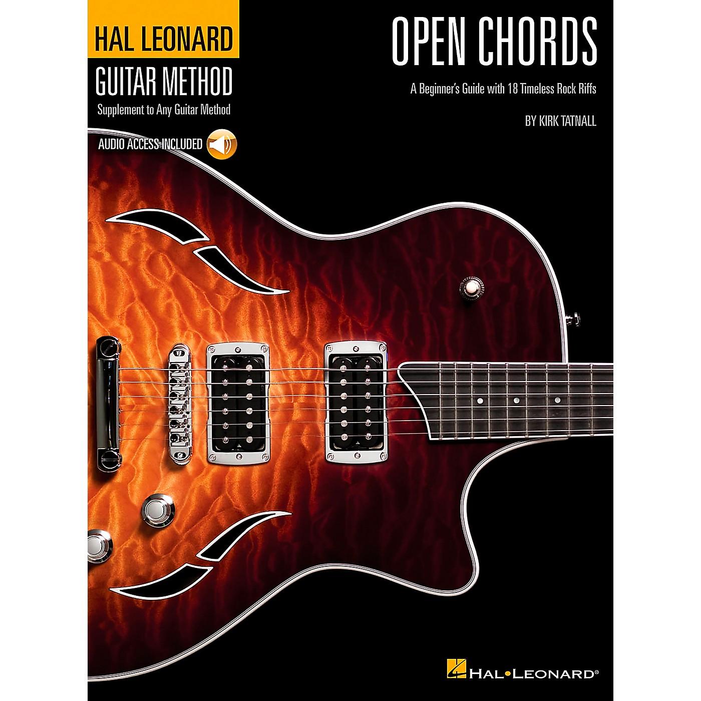 Hal Leonard Open Chords Book/CD Hal Leonard guitar Method Supplement thumbnail