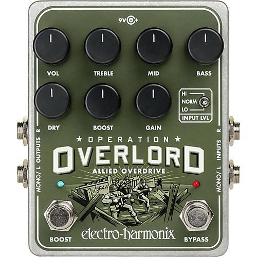 Electro-Harmonix Operation Overload Overdrive Pedal thumbnail