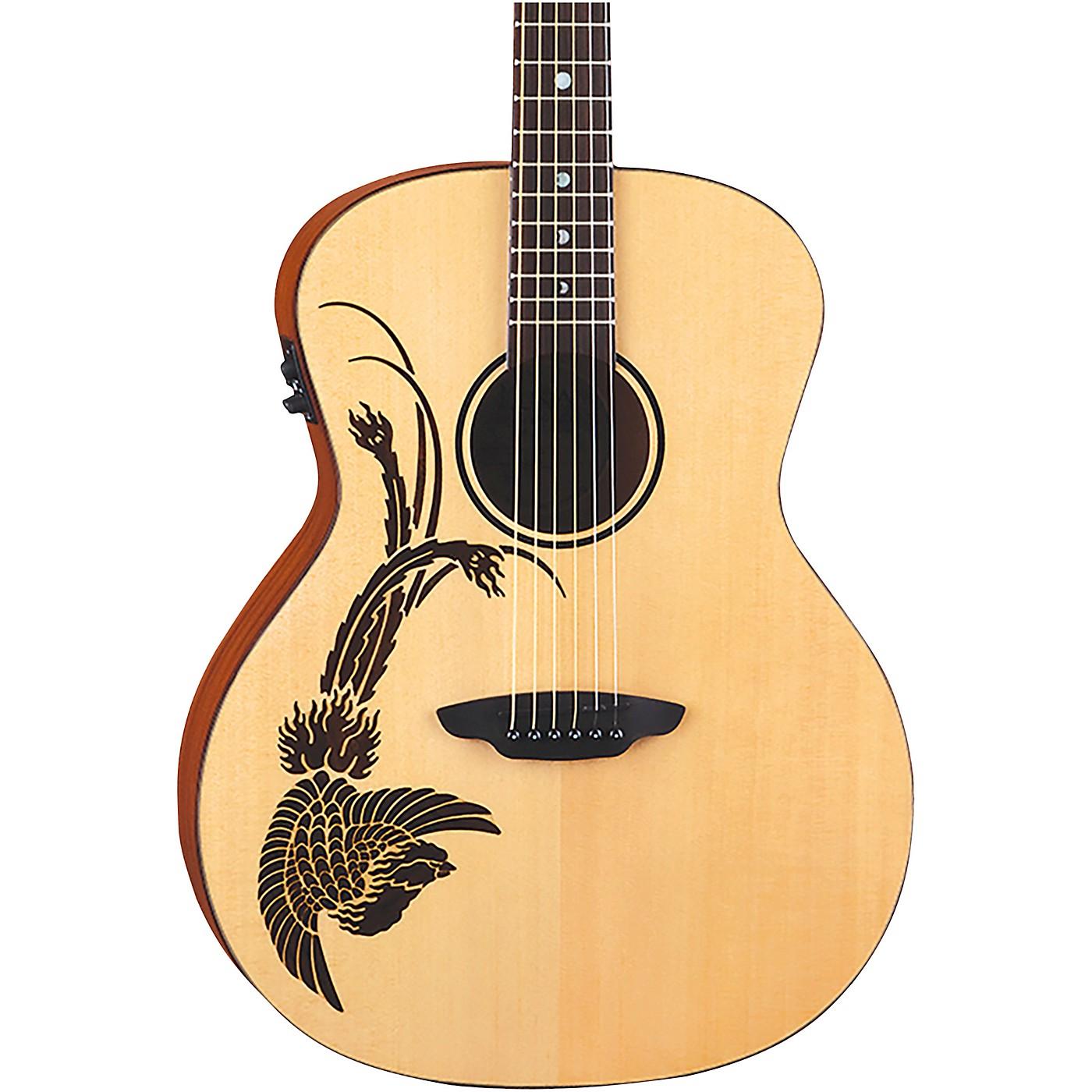 Luna Guitars Oracle Phoenix Acoustic Electric thumbnail