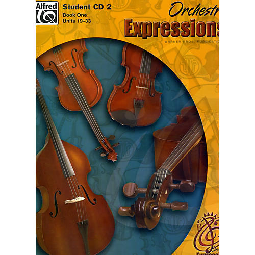 Alfred Orchestra Expressions Book One Student Edition Student CD 2-thumbnail