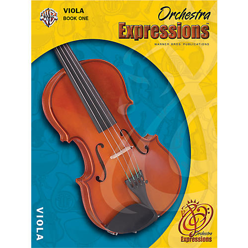 Alfred Orchestra Expressions Book One Student Edition Viola Book & CD 1 thumbnail