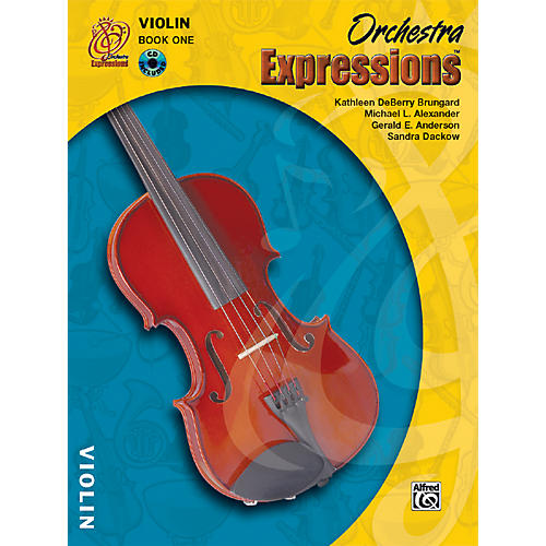 Alfred Orchestra Expressions Book One Student Edition Violin Book & CD 1 thumbnail