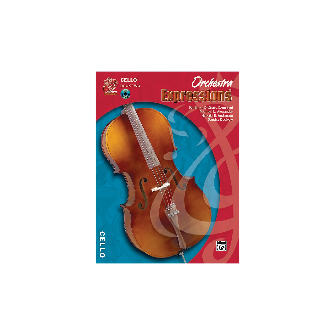 Alfred Orchestra Expressions Book Two Student Edition Cello Book & CD 1 thumbnail