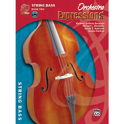Alfred Orchestra Expressions Book Two Student Edition String Bass Book & CD 1 thumbnail