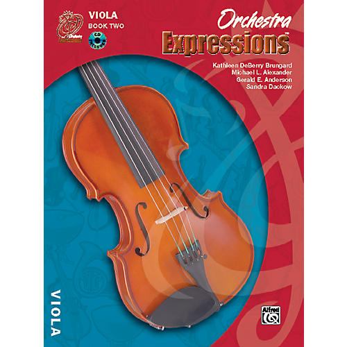 Alfred Orchestra Expressions Book Two Student Edition Viola Book & CD 1 thumbnail