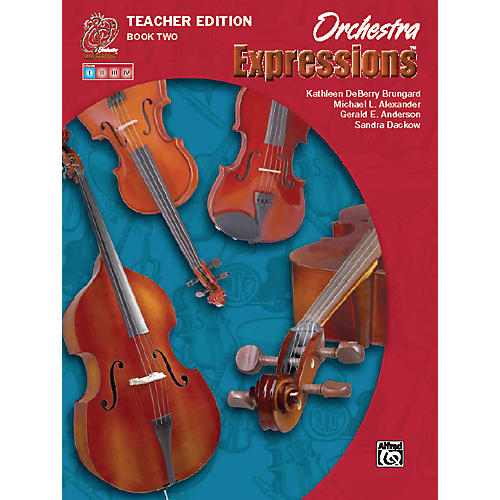Alfred Orchestra Expressions Book Two Teacher Edition Teacher Curriculum Package thumbnail