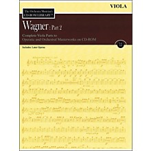 Hal Leonard Orchestra Musician's CD-Rom Library Vol 12 Wagner Part 2 Viola