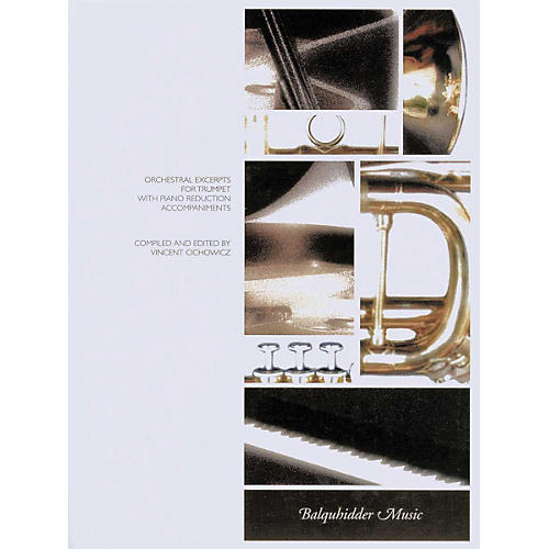 Carl Fischer Orchestral Excerpts for Trumpet with Piano Reduction Accompaniments Book thumbnail