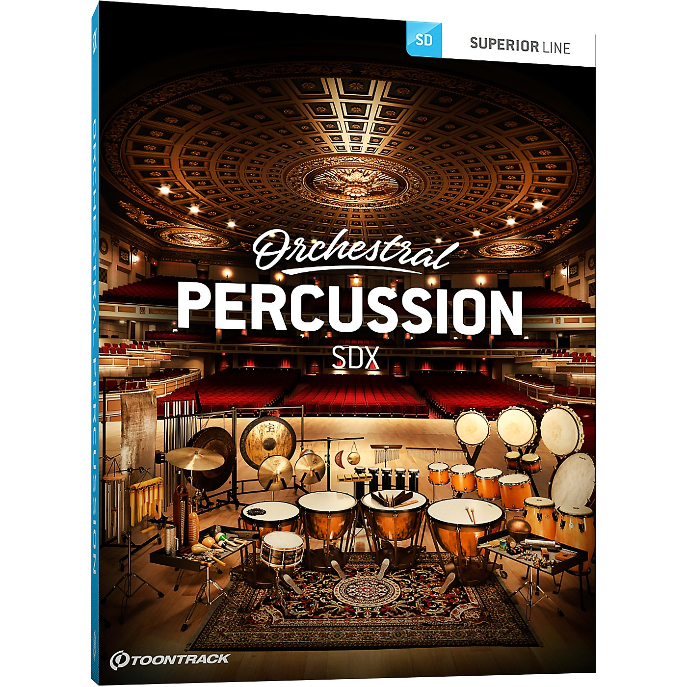 Toontrack Orchestral Percussion SDX thumbnail