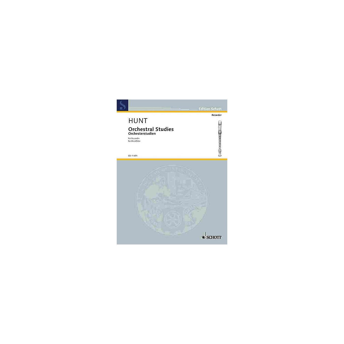 Schott Orchestral Studies for Recorder Schott Series thumbnail