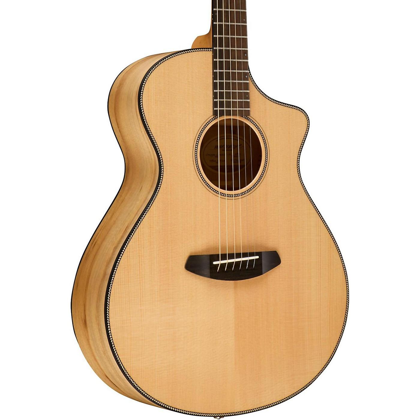 Breedlove Oregon Concert CE Sitka Spruce - Myrtlewood Acoustic-Electric Guitar thumbnail