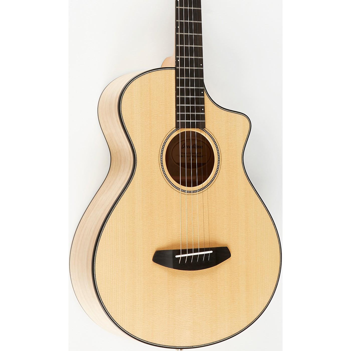 Breedlove Oregon Concertina CE Sitka-Myrtlewood Acoustic-Electric Guitar thumbnail