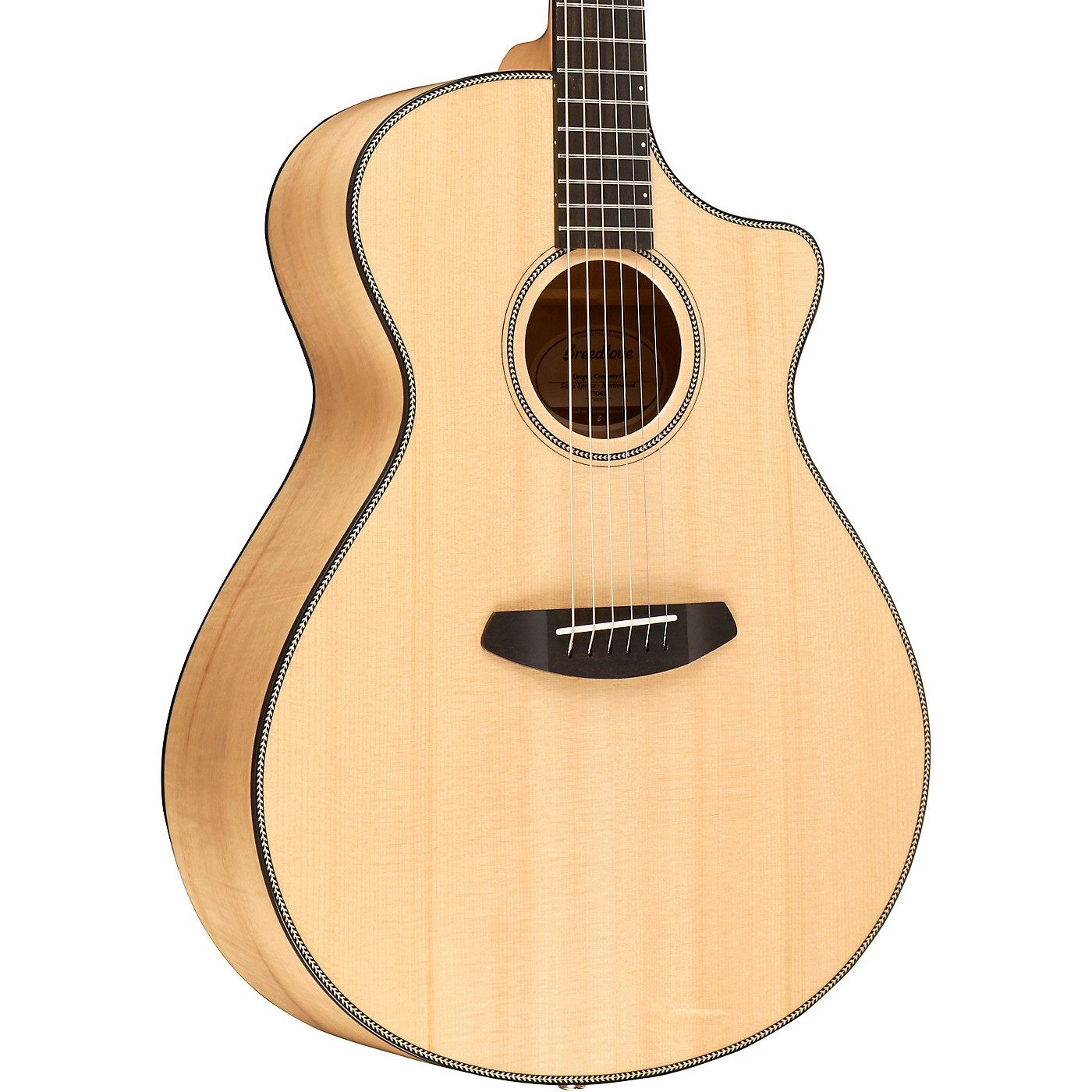 Breedlove Oregon Concerto with Spruce Top Acoustic-Electric Guitar thumbnail