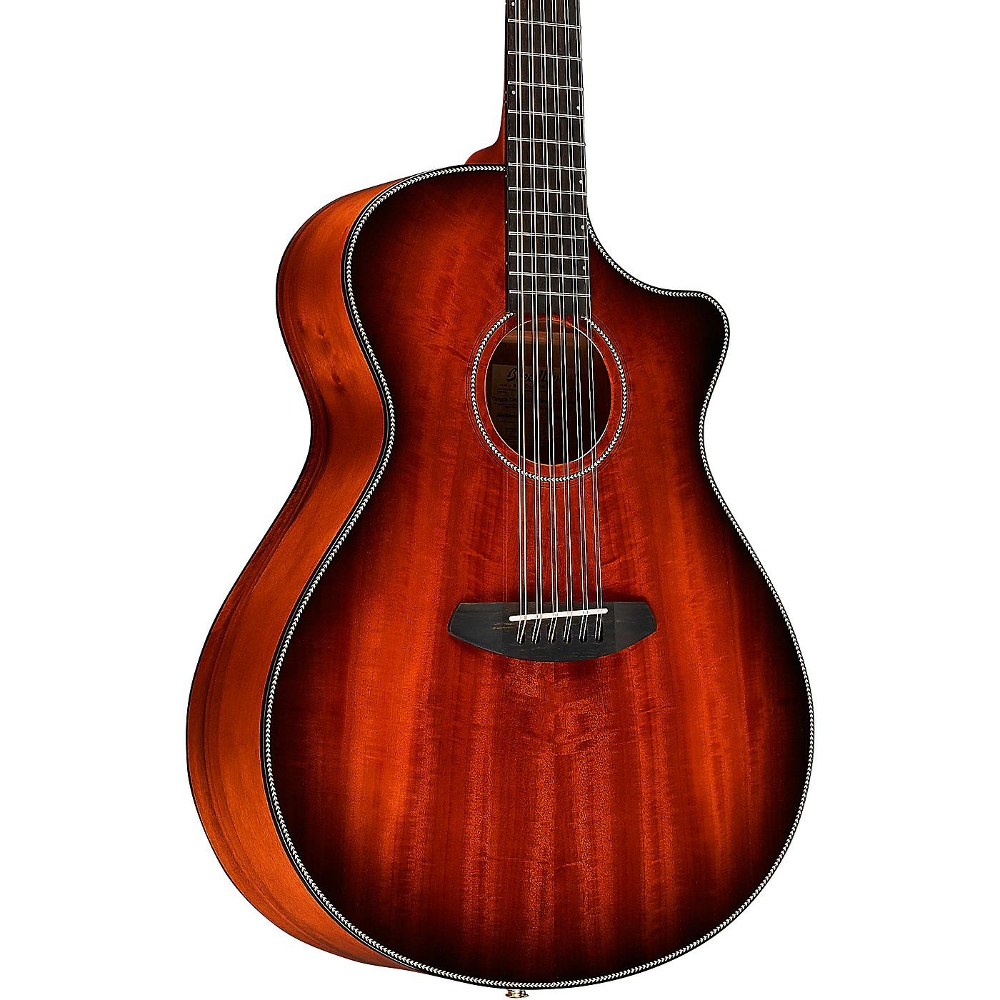 Breedlove Oregon Myrtlewood Concerto 12 String Acoustic-Electric Guitar thumbnail