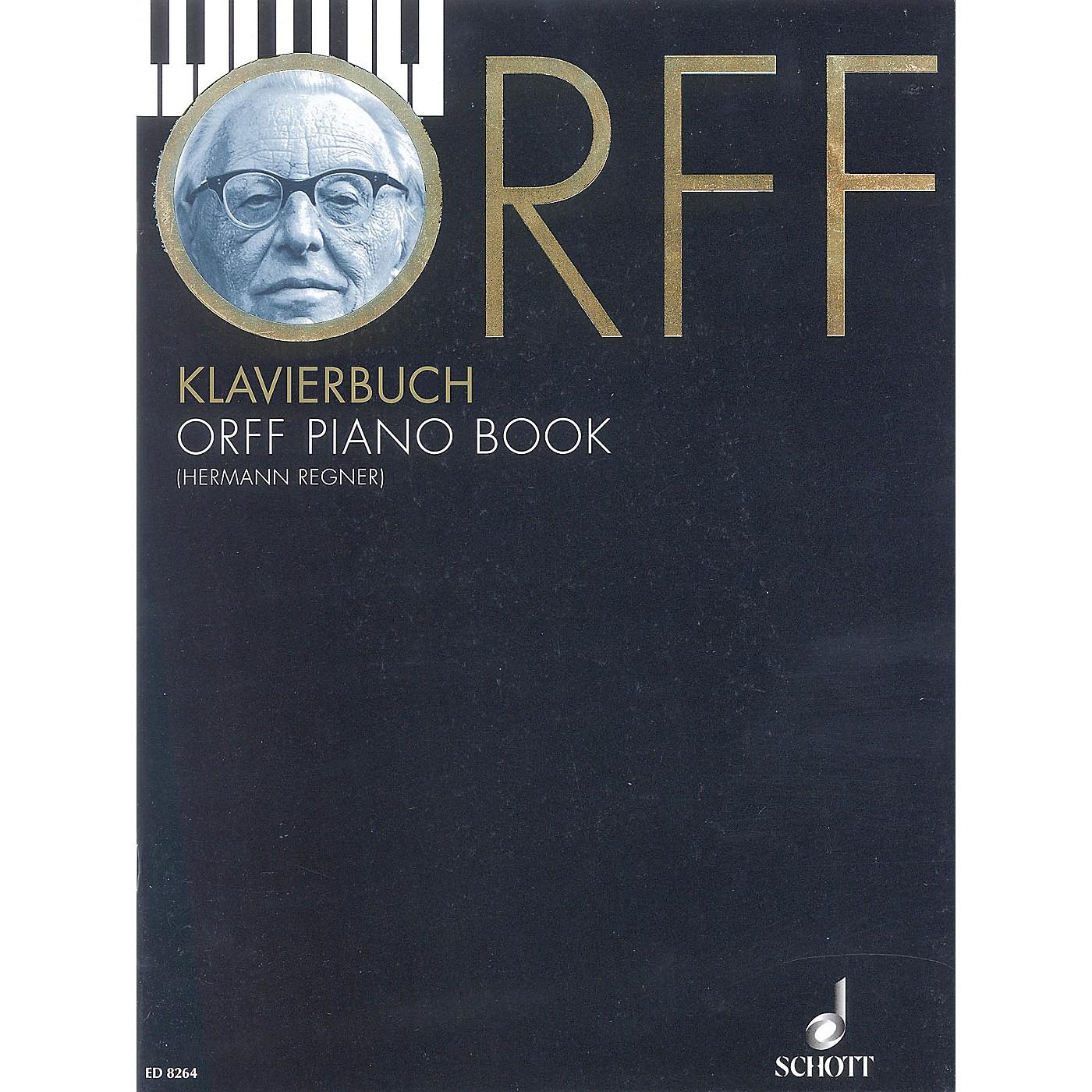 Schott Orff Piano Book Schott Series Softcover thumbnail