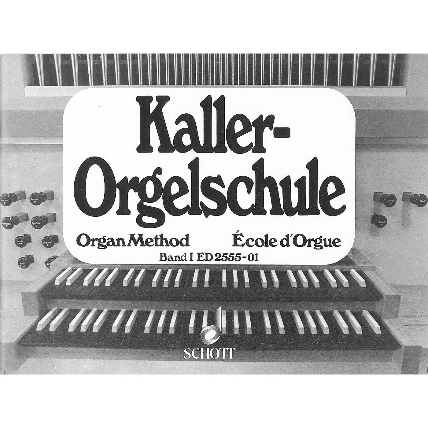 Schott Organ Method - Vol. 1 Schott Series Softcover thumbnail