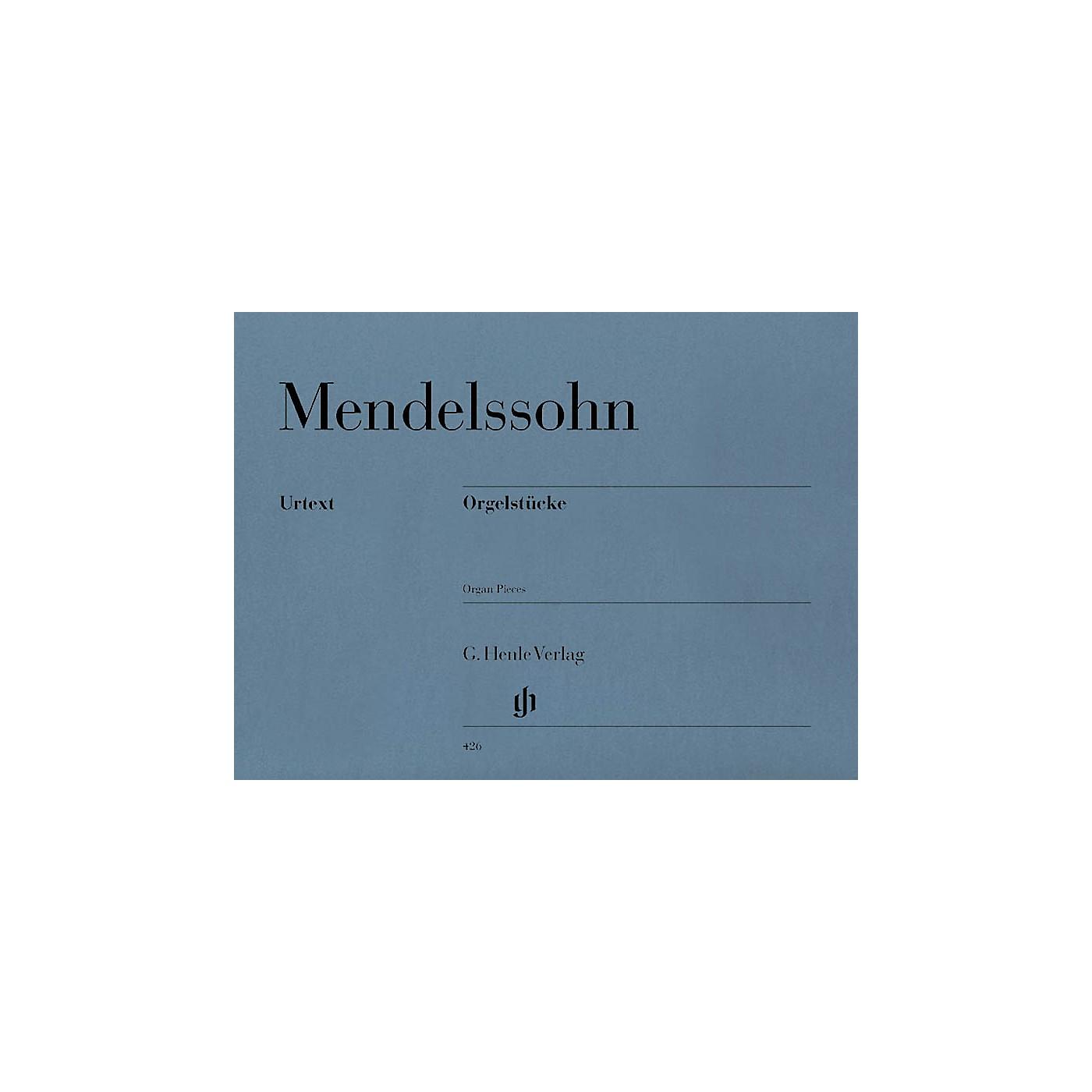 G. Henle Verlag Organ Pieces Henle Music Folios Series Softcover thumbnail