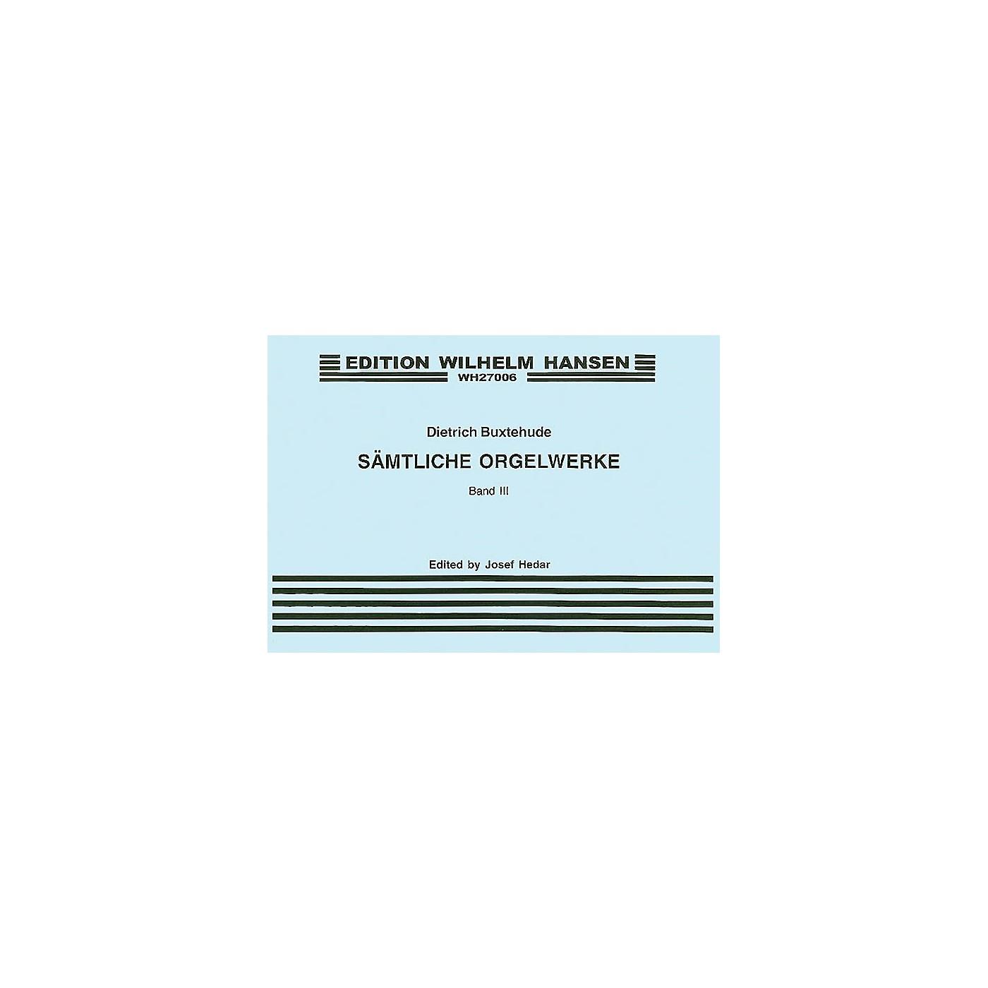 Wilhelm Hansen Organ Works - Volume 3 Music Sales America Series thumbnail