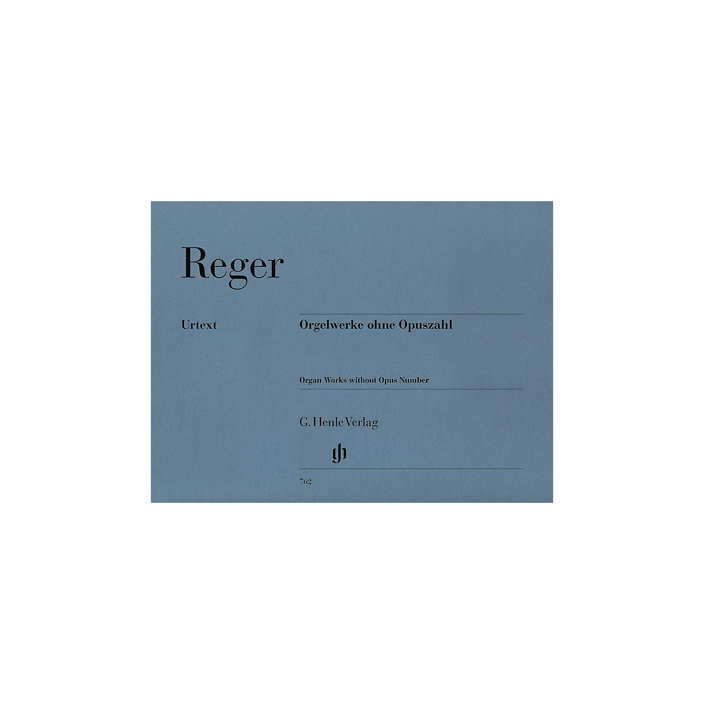 G. Henle Verlag Organ Works Without Opus Number Henle Music Folios Series Softcover thumbnail