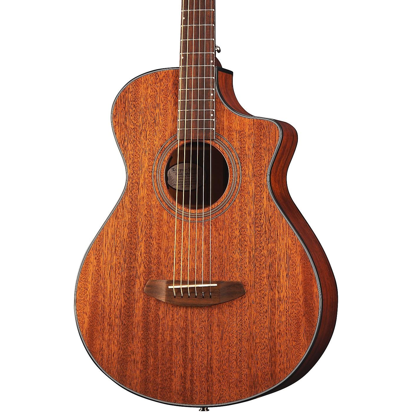 Breedlove Organic Collection Wildwood Concertina Cutaway CE Acoustic-Electric Guitar thumbnail