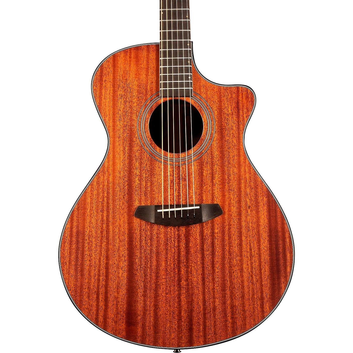 Breedlove Organic Collection Wildwood Concerto Cutaway CE Acoustic-Electric Guitar thumbnail