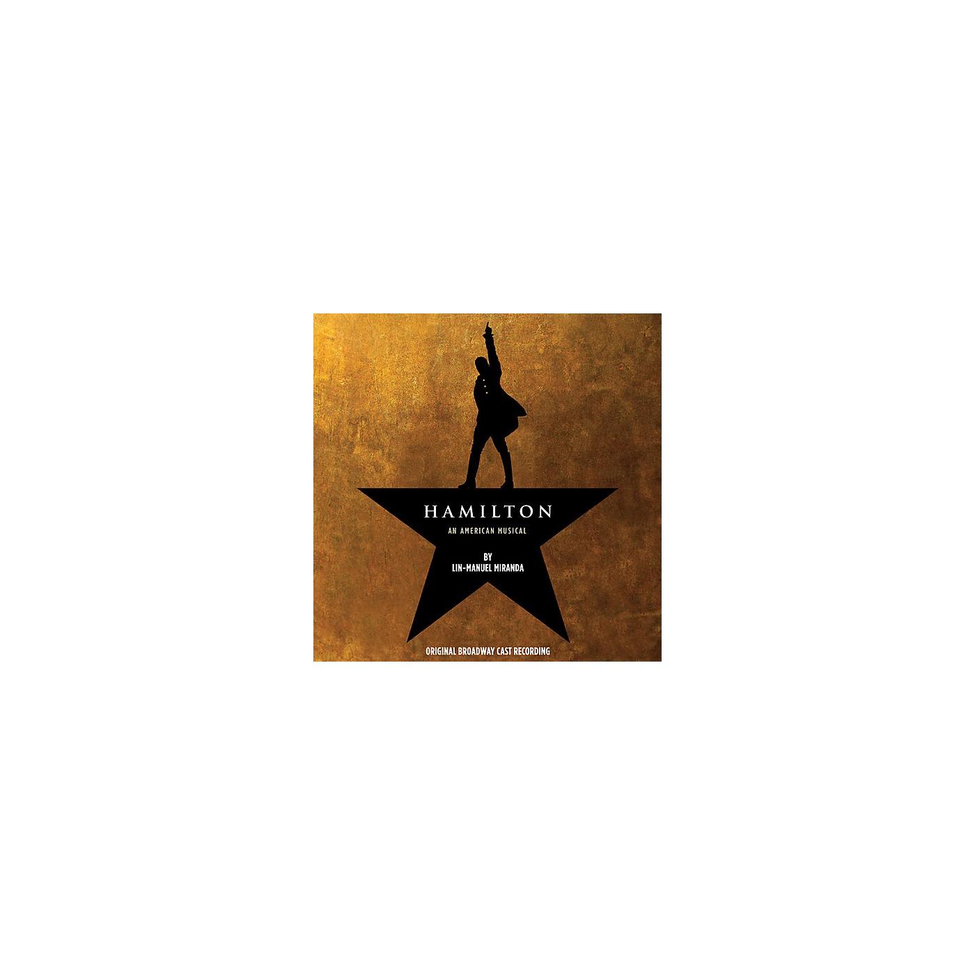 Alliance Original Cast Recording - Hamilton (Original Broadway Cast Recording) (CD) thumbnail