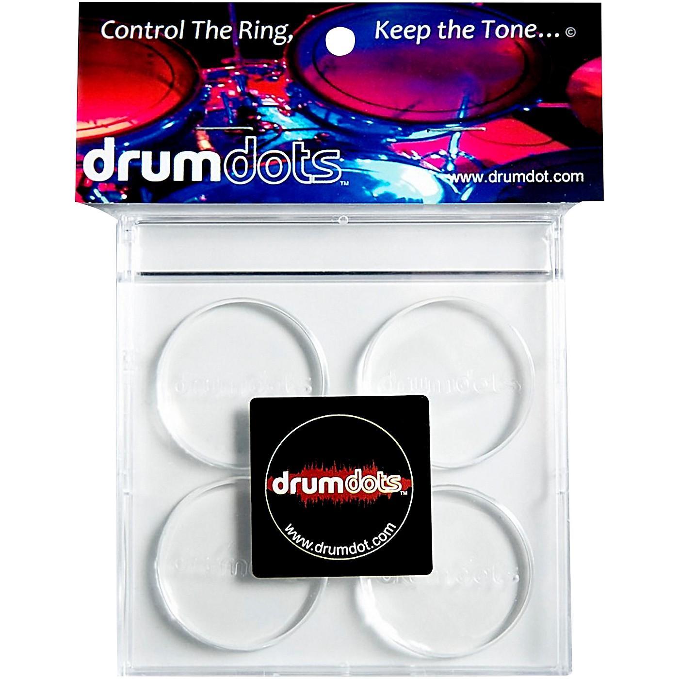 drumdots Original Drum Dampeners, 4-Pack thumbnail