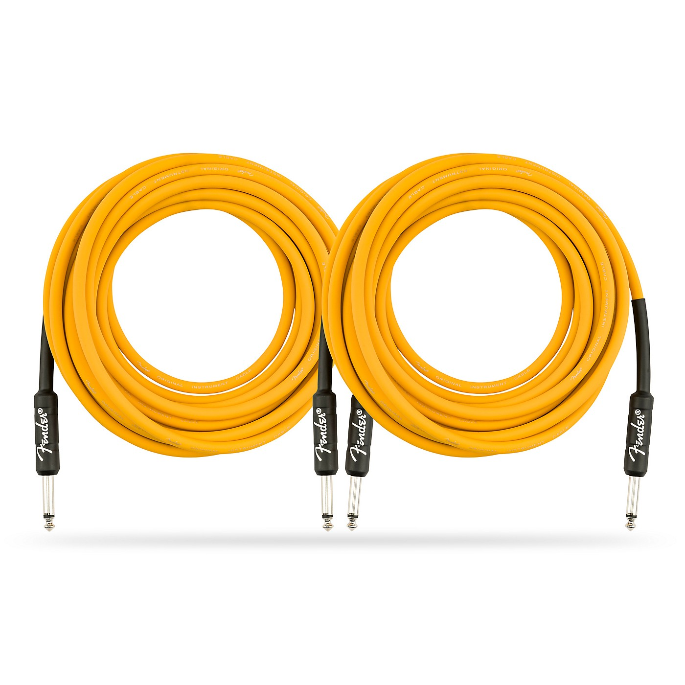 Fender Original Series Limited Edition Butterscotch Blonde Instrument Cable - 18.6 ft. - 2 Pack thumbnail