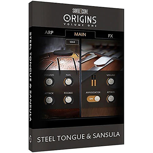 Best Service Origins Series Vol. 1 Steel Tongue & Sansula thumbnail
