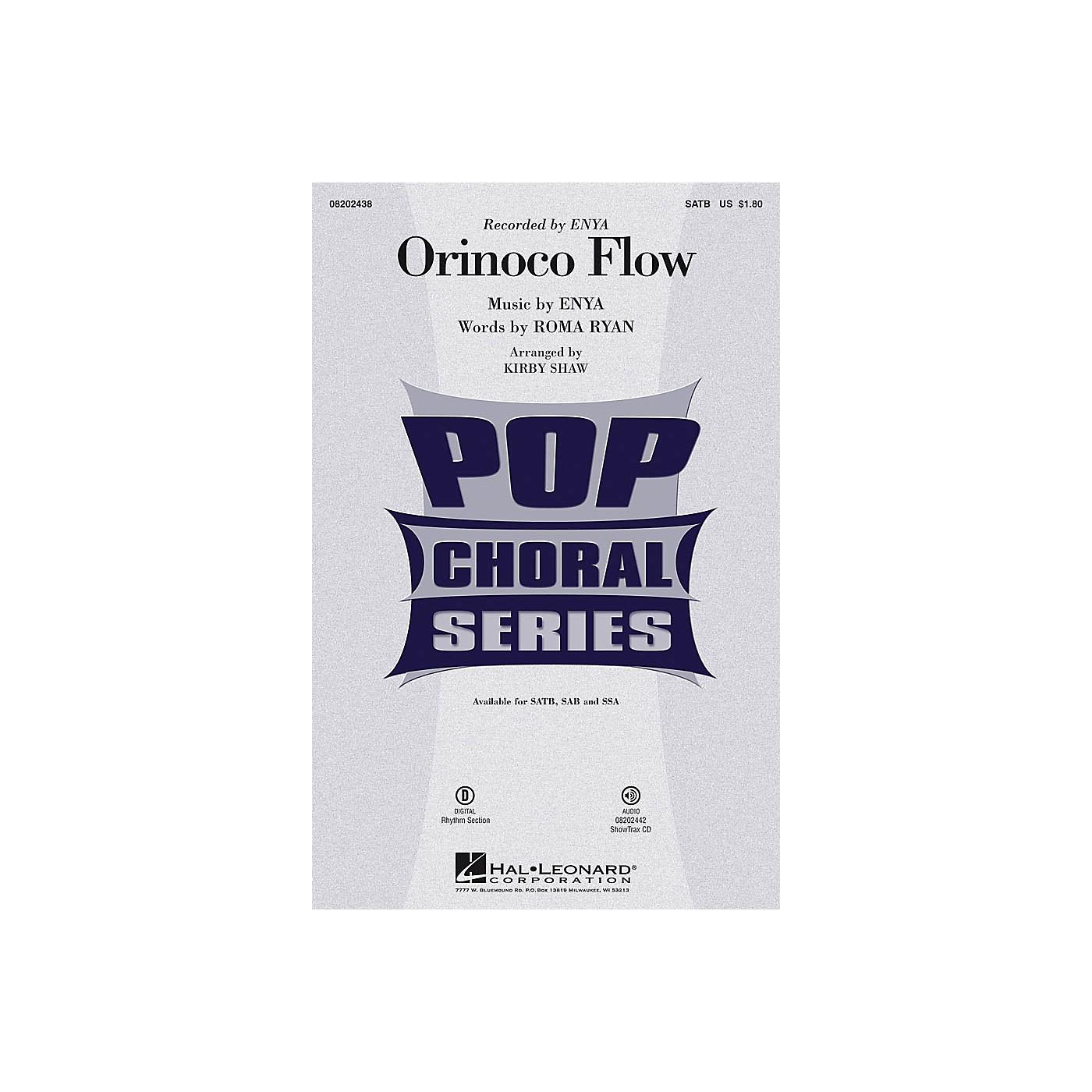 Hal Leonard Orinoco Flow SSA by Enya Arranged by Kirby Shaw thumbnail