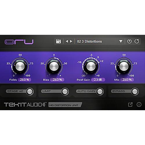 Tek'it Audio Oru High Quality Wavefolder Distortion (Download) thumbnail