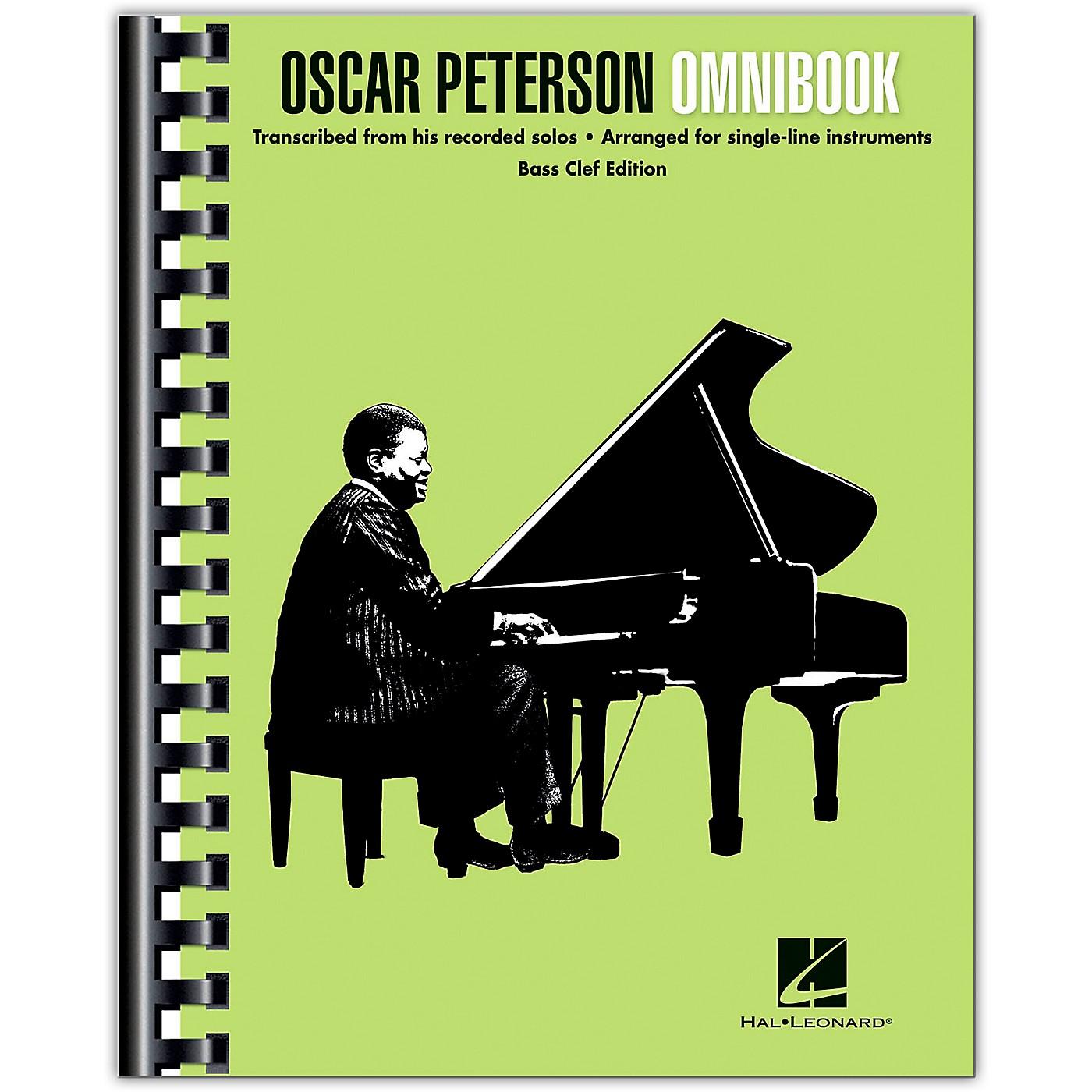 Hal Leonard Oscar Peterson - Omnibook (Bass Clef Instruments) Jazz Transcriptions thumbnail
