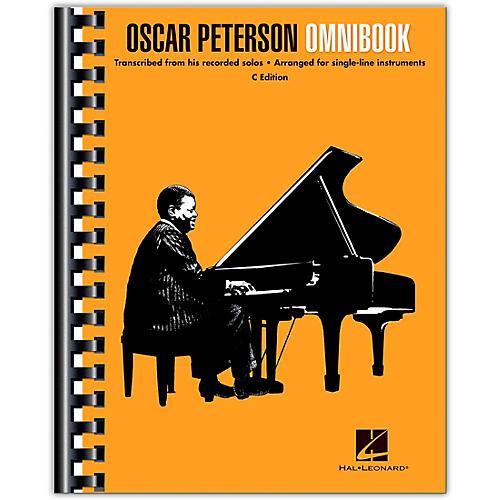 Hal Leonard Oscar Peterson - Omnibook (C Instruments) Jazz Transcriptions thumbnail