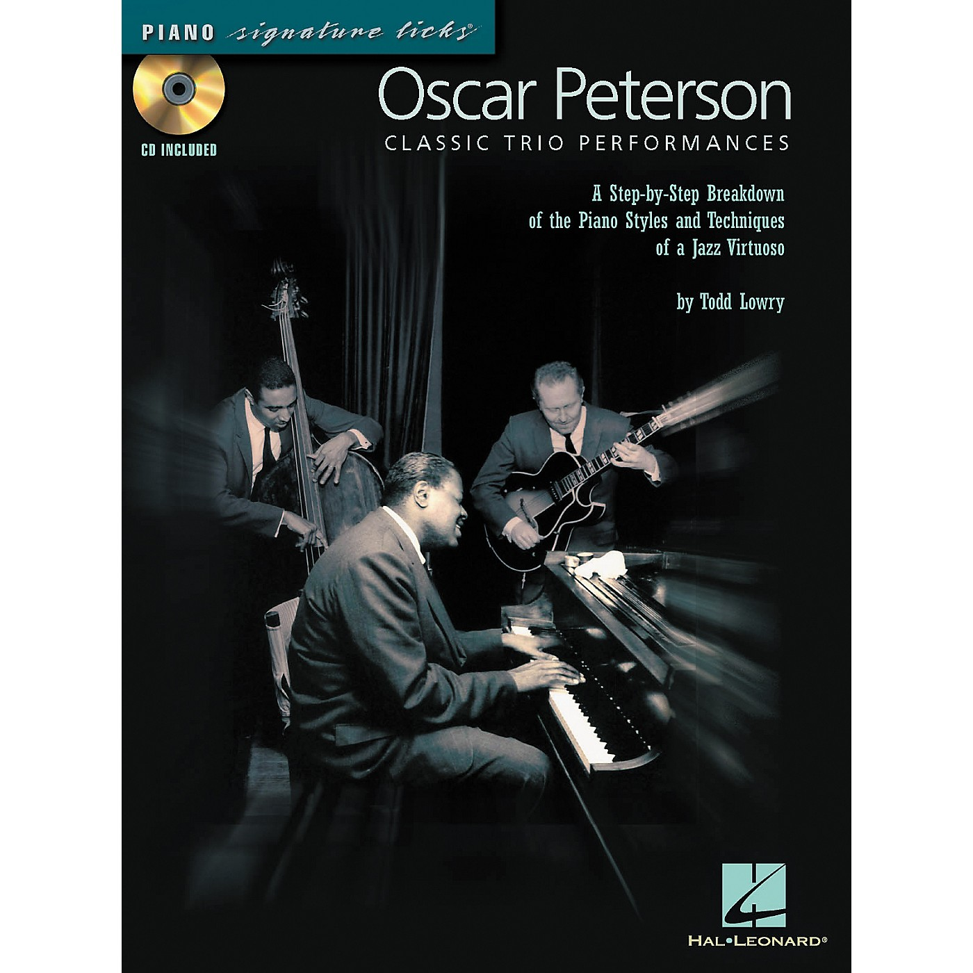 Hal Leonard Oscar Peterson Classic Trio Performances - Piano Signature Licks Series (CD/Booklet) thumbnail