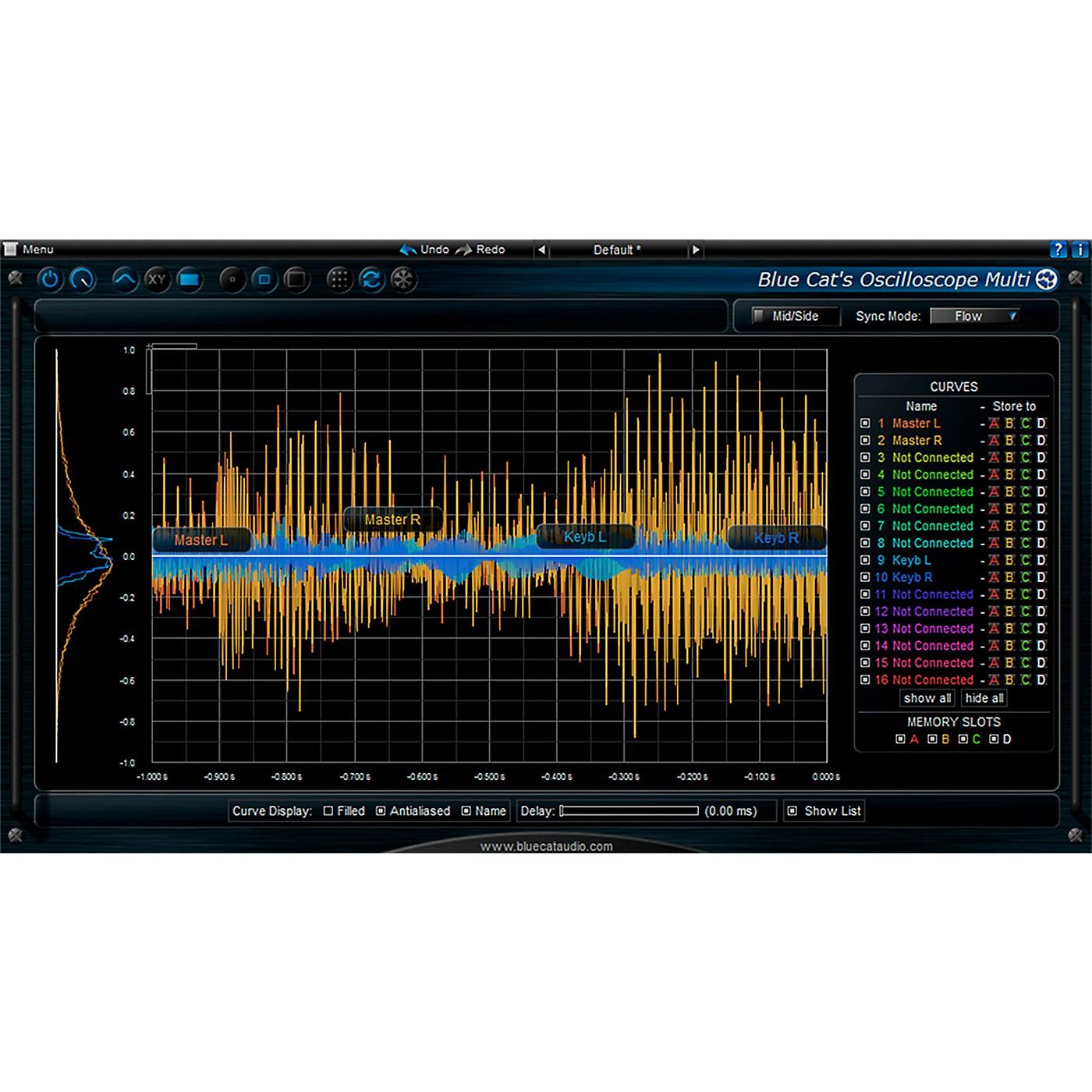 Blue Cat Audio Oscilloscope Multi Waveform Visualizer thumbnail