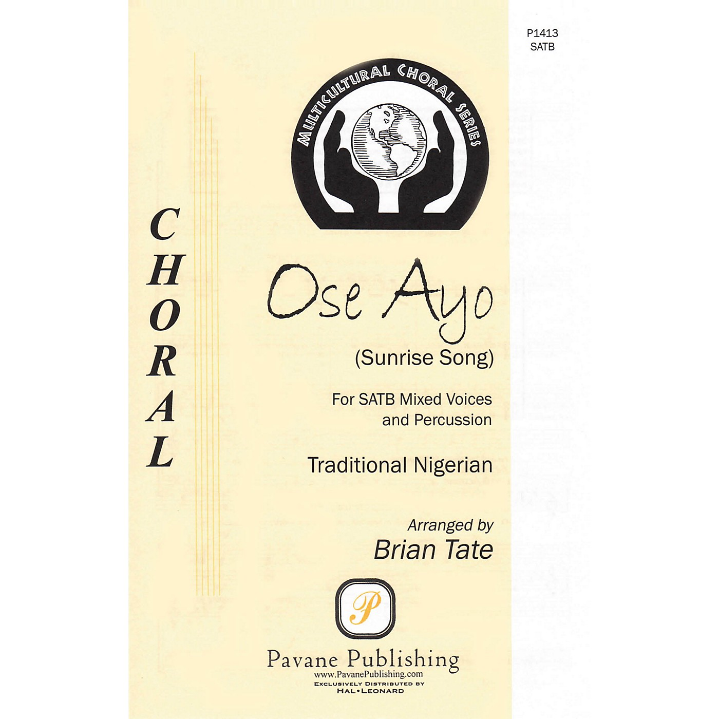 Pavane Ose Ayo (Sunrise Song) SATB a cappella arranged by Brian Tate thumbnail