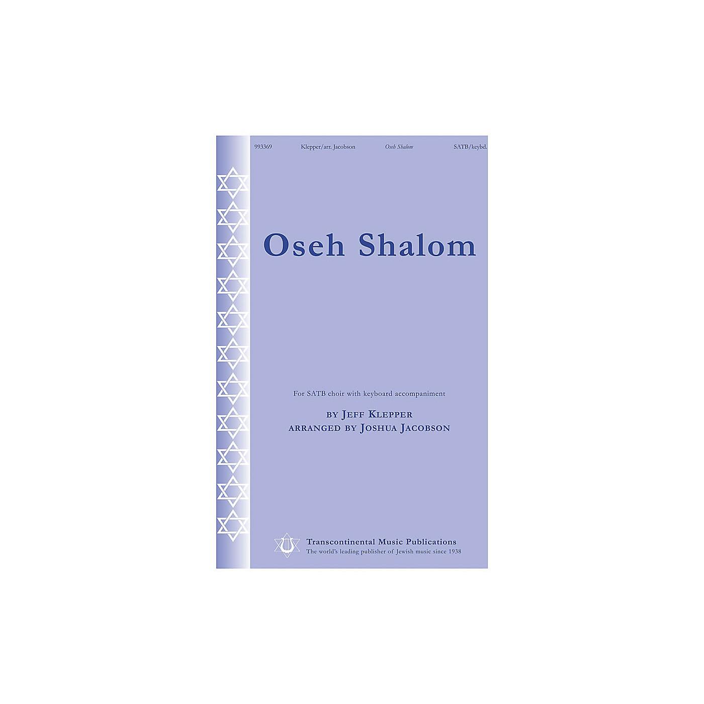 Transcontinental Music Oseh Shalom SATB arranged by Joshua Jacobson thumbnail